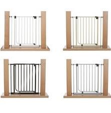 Impag Türschutzgitter Treppenschutzgitter 62 - 222 cm selbstschließend - zum Klemmen - ohne Bohren, Türgitter, Treppenschutz, Absperrgitter