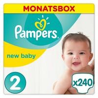 Pampers New Baby Windeln, Größe 0 (Micro), 1-2,5 kg, 6er Pack (6 x 24 Windeln)