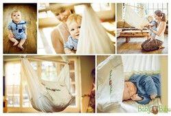 BabyBubu Federwiege für Baby Hängesitz