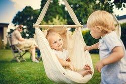 BabyBubu Federwiege für Kind Hängesitz