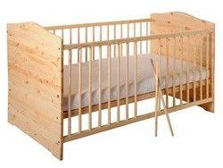 Kinderbett Jugendbett Kuba aus Vollmassiv Holz