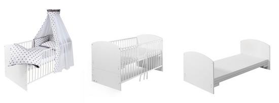 Shardt Komplettbett höhenverstellbar und als Juniorbett verwendbar