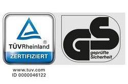 TÜVRheinland zertifiziert