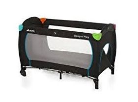 Hauck Sleep N Play Go Plus Kinderreisebett mit Rollen