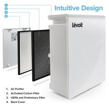 Levoit Luftreiniger mit HEPA-Kombifilter & Aktivkohlefilter