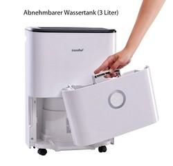 Comfee MDDF-16DEN3 Luftentfeuchter für 80 Quadratmeter geeignet inklusive 3 Liter Wassertank