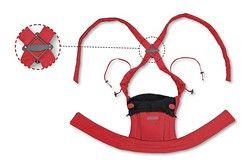 Bondolino Babytrage rot mit Rückenkreuz