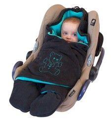 ByBUM - Baby Winter-Einschlagdecke für den Kindersitz