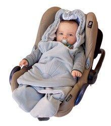 ByBoom® - Einschlagdecke für die Übergangszeit für Babyschale und Autokindersitz