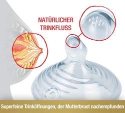 NUK Sauger natürlicher Milchfluss