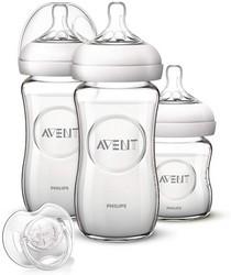 Philips Avent Naturnah Neugeborenenset Glasflaschen