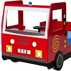 Deuba Feuerwehrbett für Kinder Front