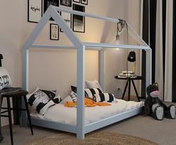 Vicco Hausbett für Kinder mit Deko