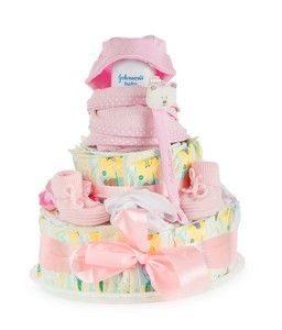 Baby Erstausstattung Windeltorte