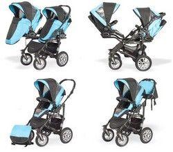 Babyactive Twinni Zwillingswagen Buggy Varianten