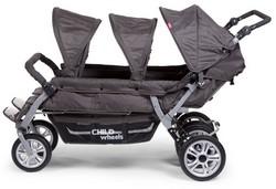 Childwheels Sechlingswagen seitlich