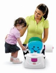 Fisher-Price P4326 Töpfchen und Toilettensitz mit Kind