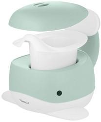 Toilettentrainer Blau gepolsterte Sitzfl/äche Kinder WC Sitz seitliche Haltegriffe f/ür sicheren Halt leicht zu reinigen
