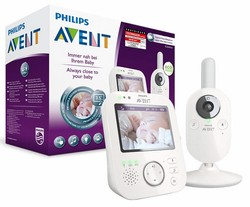Philips Avent Video-Babyphone SCD630