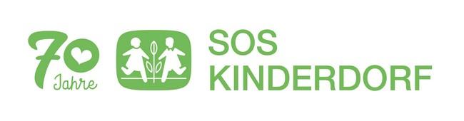 70 Jahre Logo SOS Kinderdorf