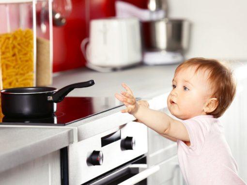 Kindersicherung für das Baby zu Hause