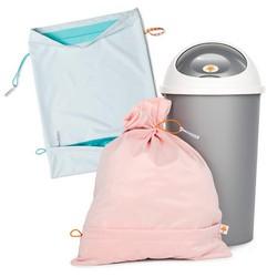 Foxy Baby® Windeleimer für Stoffwindeln - Supersparpack (2 Waschsäcke)
