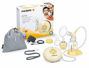 Medela Swing elektrische Milchpumpe für einseitiges Abpumpen mit Zubehör