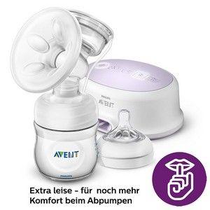 Philips AVENT SCF332 elektrische Komfort-Einzelmilchpumpe extra leise
