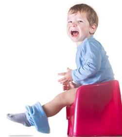 Schmerzen beim Stuhlgang - Baby hält Stuhl zurück