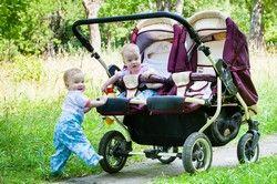 Unterwegs mit den Zwillingen