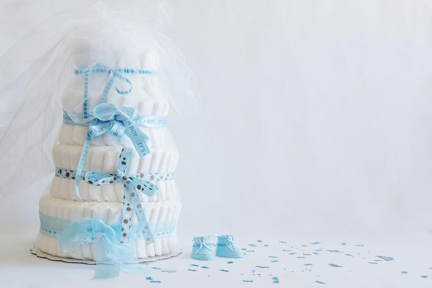 Windeltorten sind ein tolles Geschenk für Geburt, Taufe oder die Babyparty