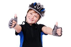 Kinder Fahrradhelm ist wichtig