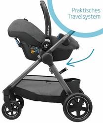 Maxi-Cosi Rock Babyschale mit Kinderwagen