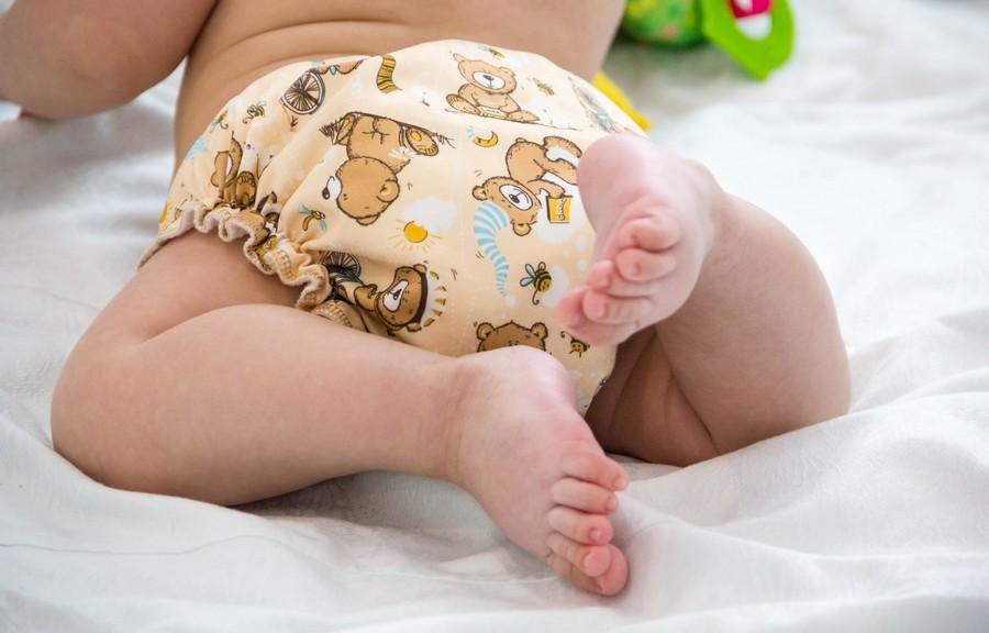 Yeelan Baby Stoff Windelset All-in-One-Tasche Windel mit Doppelter /Öffnung Weiche Atmungsaktive Waschbare Wiederverwendbare Windeleinlage f/ür Babys /& Kleinkinder