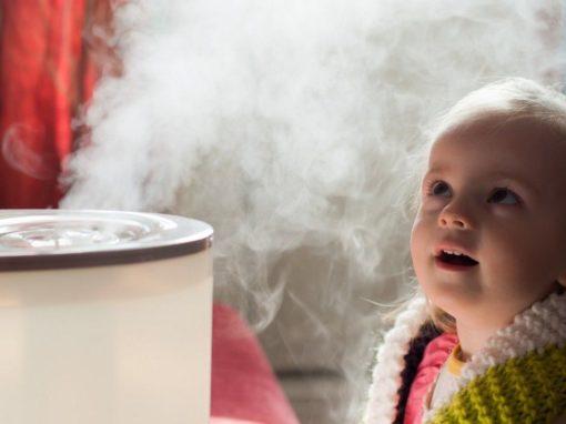 Luftbefeuchter Test Baby
