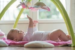 Wachstumsschub-Baby-Entwicklungsschub-Baby